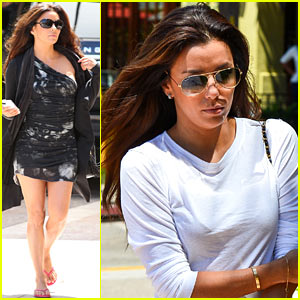 Eva Longoria: Reunited with Team Eva!