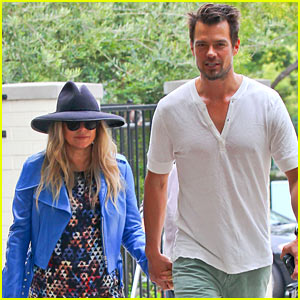 Fergie & Josh Duhamel Hold Hands After Church!