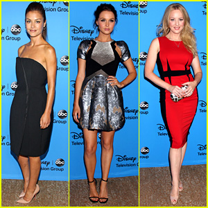 Hannah Ware & Camilla Luddington: ABC's TCA Party!