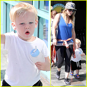 Hilary Duff: Mike Comrie Gave Me The Most Precious Boy!
