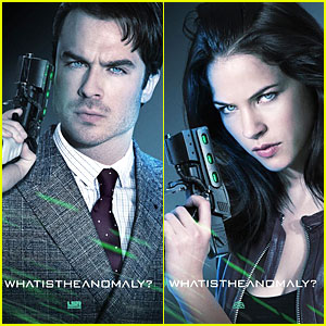 Ian Somerhalder & Alexis Knapp: 'The Anomaly' Posters!