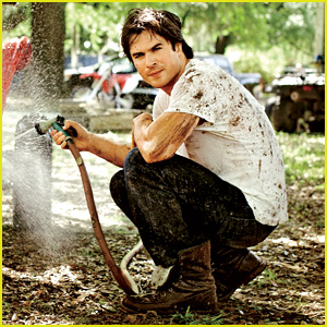 Ian Somerhalder Gets Dirty for 'Conde Nast Traveler' Feature