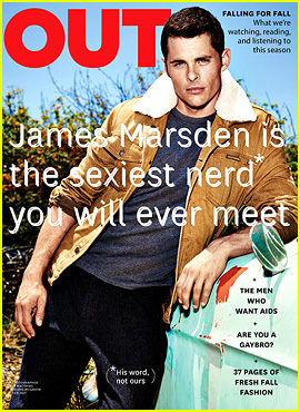 James Marsden: I'm Just a Goofy Nerd Despite My Model Face!