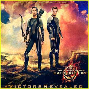 Jennifer Lawrence: 'Hunger Games' Victor's Poster!