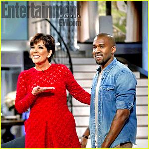 Kanye West: Kris Jenner's Talk Show Finale Guest!
