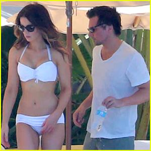 Kate Beckinsale: White Hot Bikini Babe with Len Wiseman!