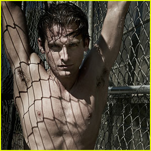 Kevin Zegers: Shirtless for Flaunt Magazine's Dye Issue!