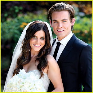 Kevin Zegers: Wedding Photo with Jaime Feld!
