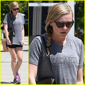 Kirsten Dunst Keeps it Fit in Studio City!