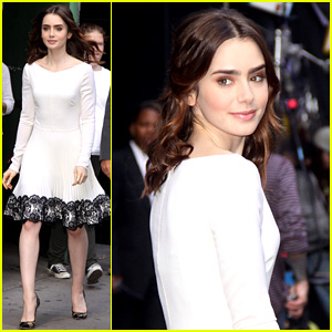 Lily Collins: Win VIP Passes for 'Mortal Instruments' LA Event!