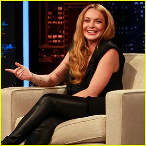 Lindsay Lohan's 'Chelsea Lately' Hosting Gig - Pics & Videos!