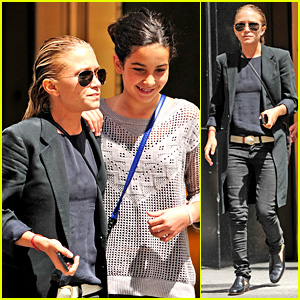 Mary-Kate Olsen Hangs with Olivier Sarkozy's Daughter