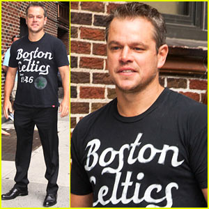 Matt Damon: 'I Spend My Life Trying to Be Like Brad Pitt'