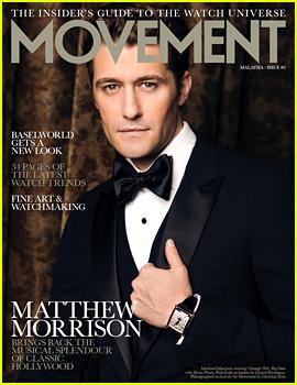 Matthew Morrison Covers 'August Man Movement' August 2013