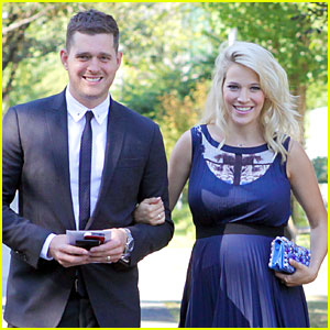 Michael Buble: Luisana Lopilato is 'Due at Any Moment'!