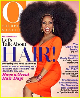 Oprah Winfrey Wears Giant Afro for 'O Magazine' Cover!