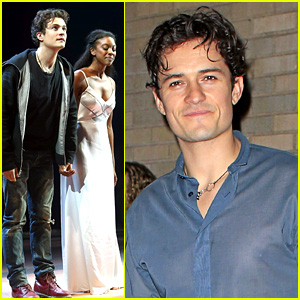 Orlando Bloom Greets 'Romeo & Juliet' Fans in Sheer Shirt!