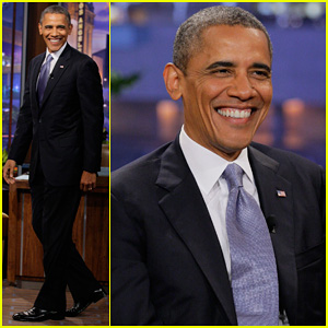 President Barack Obama: 'Tonight Show with Jay Leno' Visit!
