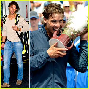 Rafael Nadal Jets to NYC After Western & Southern Open Win!