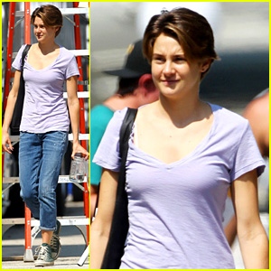 Shailene Woodley: 'Fault in Our Stars' First Set Photos!