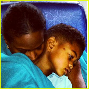 Tameka Foster Shares Usher V Hospital Pic After Pool Accident