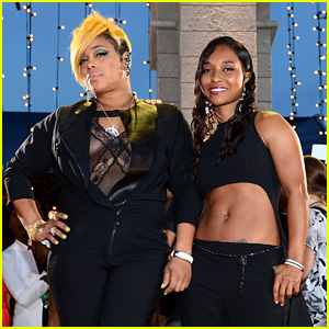 TLC's Chilli & T-Boz - MTV VMAs 2013 Red Carpet
