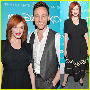 Tom Hiddleston & Christina Hendricks: 'The Pirate Fairy' at Disney's D23 Expo!