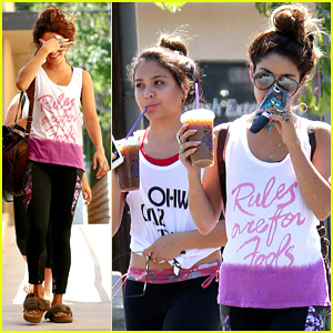 Vanessa Hudgens: Afternoon Workout Before FYF Fest 2013!