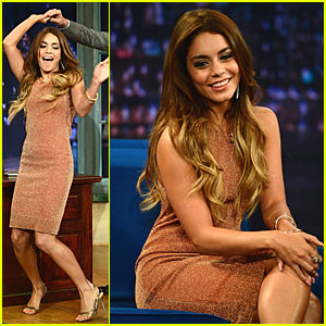 Vanessa Hudgens: Dancing Queen on 'Fallon'!