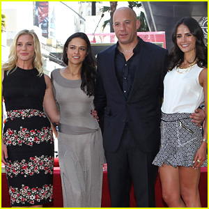 Vin Diesel: Hollywood Walk of Fame with His Leading Ladies!