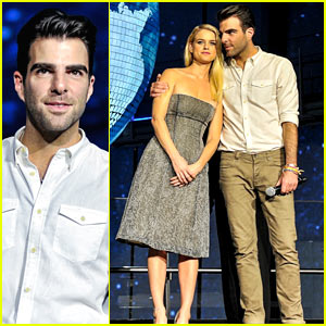 Zachary Quinto: 'Star Trek Into Darkness' Galaxy Carpet Event