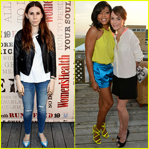 Zosia Mamet & Taraji P. Henson: Party Under the Stars Event!