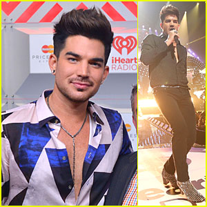 Adam Lambert: iHeartRadio Music Festival with Queen!