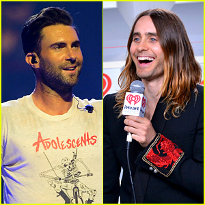 Adam Levine & Jared Leto: iHeartRadio Performances!