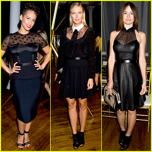 Alicia Keys & Maria Sharapova: Jason Wu Fashion Show!
