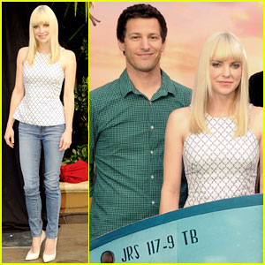 Anna Faris & Andy Samberg: 'Cloudy...2' Photo Call