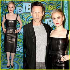 Anna Paquin & Stephen Moyer - HBO's Emmys After Party 2013