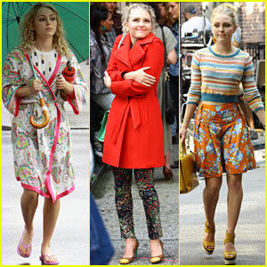 AnnaSophia Robb Rocks Fun Outfits on 'Carrie Diaries' Set!