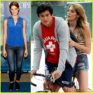 Ashley Greene: U.S. Open with Biking Buddy Graham Phillips!