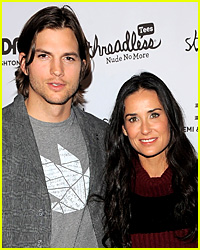 Ashton Kutcher & Demi Moore Spotted Together Again!