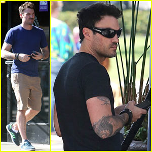 Brian Austin Green: Charlie Sheen is One of the Nicest Guys!