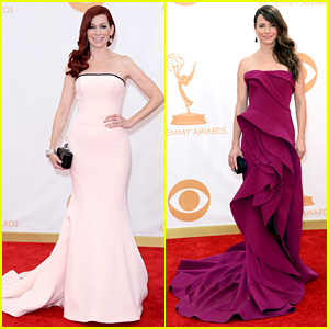 Carrie Preston emmy dress