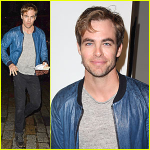 Chris Pine: PPQ Fashion Show in London! | Chris Pine, Som Wardner
