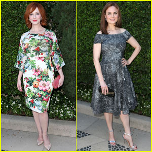 Christina Hendricks & Emily Deschanel: The Rape Foundation Annual Brunch