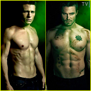 colton-haynes-stephen-amell-shirtless-fo