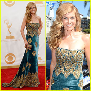 Connie Britton - Emmys 2013 Red Carpet