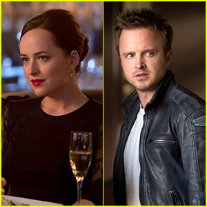 Dakota Johnson & Aaron Paul: New 'Need for Speed' Stills!