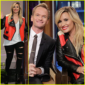 Demi Lovato & Neil Patrick Harris Appear on 'Leno'!