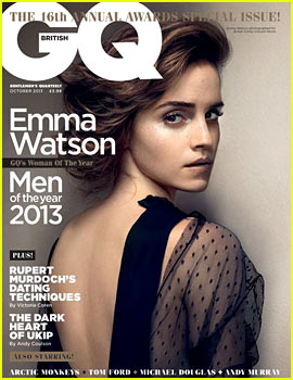 Emma Watson Covers 'British GQ' October 2013