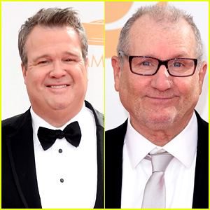 Eric Stonestreet & Ed O'Neill - Emmys 2013 Red Carpet